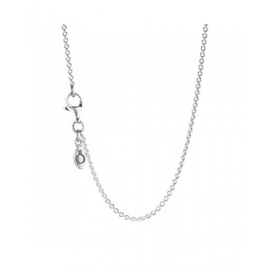 Pandora Necklace-45cm Silver Chain Jewelry