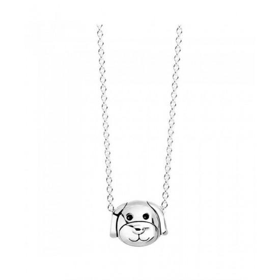 Pandora Necklace-Silver Devoted Dog Jewelry