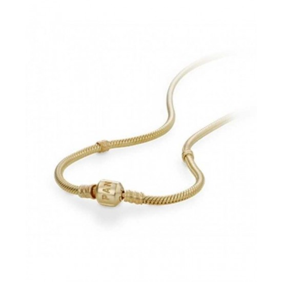 Pandora Necklace-14 Carat Gold 45cm Jewelry