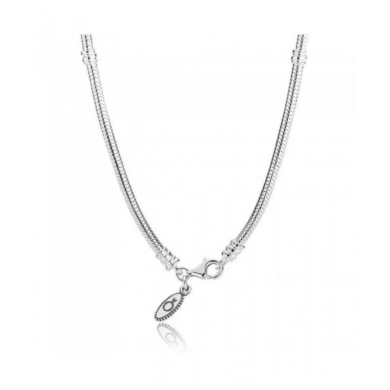 Pandora Necklace-Silver 40cm Trigger Jewelry