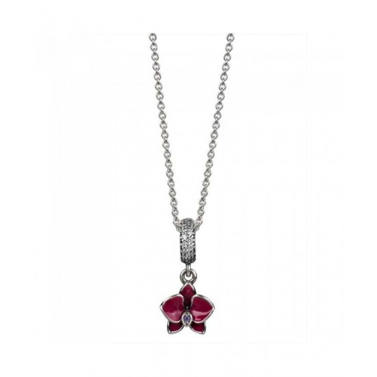 Pandora Necklace-Silver Orchid Jewelry