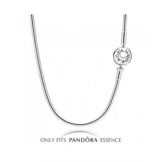 Pandora Necklace-Essence Silver Jewelry