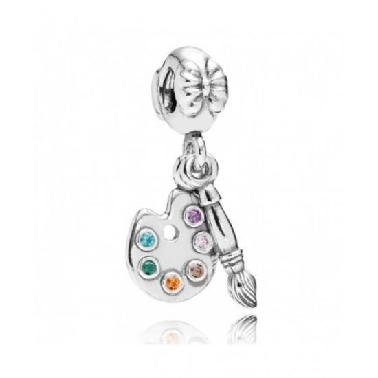 Pandora Pendant-Artist Palette Jewelry