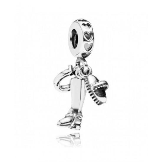Pandora Pendant-Equestrian Jewelry