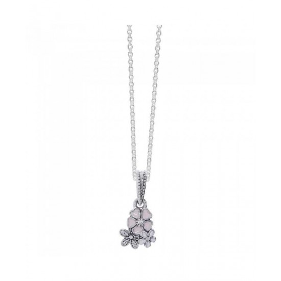 Pandora Necklace-Poetic Blooms Jewelry