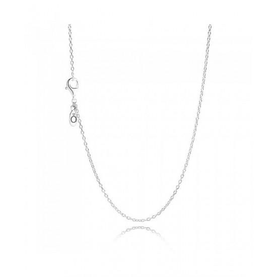 Pandora Necklace-Silver 45cm Chain Jewelry