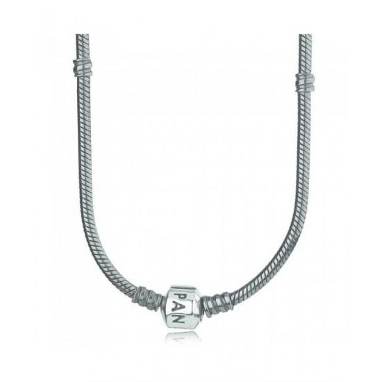 Pandora Necklace-Oxidised Silver 40cm Jewelry