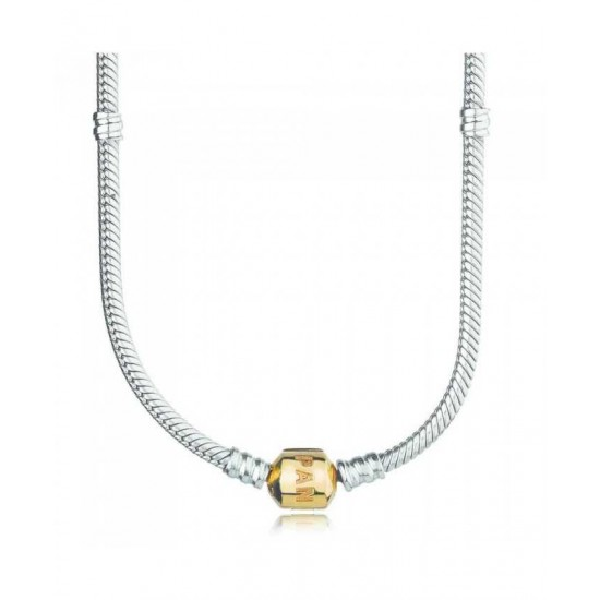 Pandora Necklace-Silver 50cm 14ct Clasp Jewelry