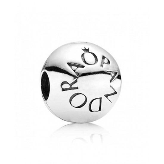Pandora Clip-Silver Logo Jewelry