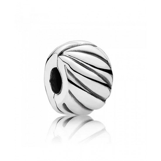 Pandora Clip-Silver Abstract Jewelry