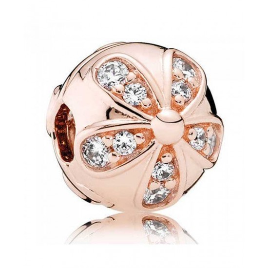 Pandora Clip-Rose Dazzling Daisies Jewelry Cheap