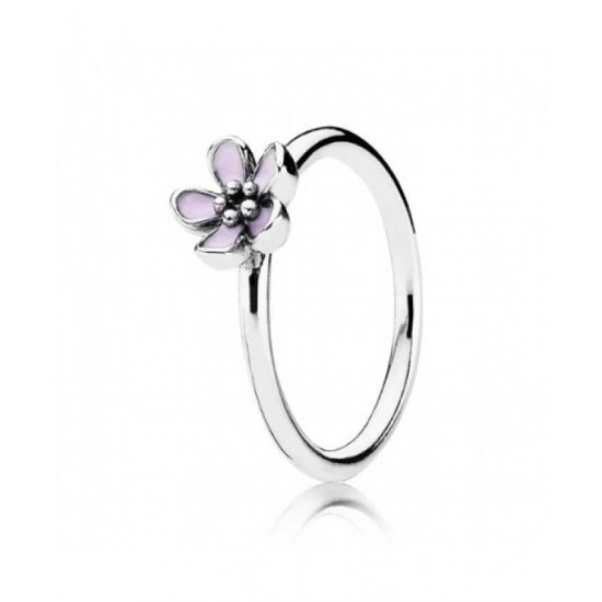 Pandora Ring-Silver Cherry Blossom Flower Jewelry