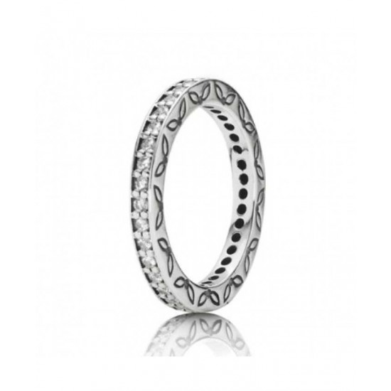 Pandora Ring-Silver Full Eternity Cubic Zirconia Jewelry