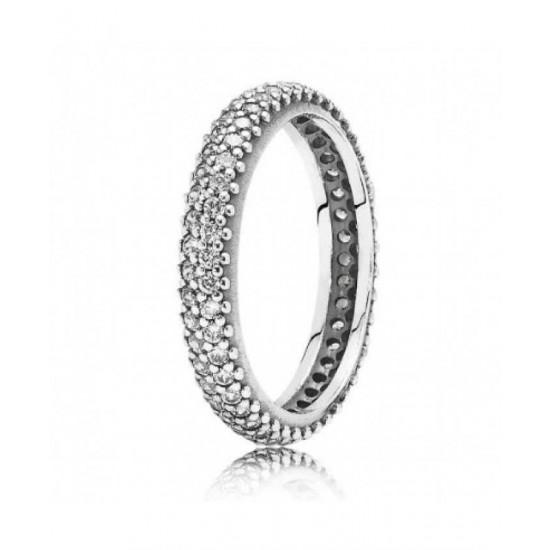 Pandora Ring-Sparkling Curve Jewelry