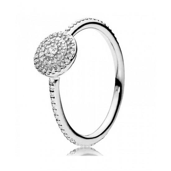 Pandora Ring-Silver Radiant Elegance Jewelry
