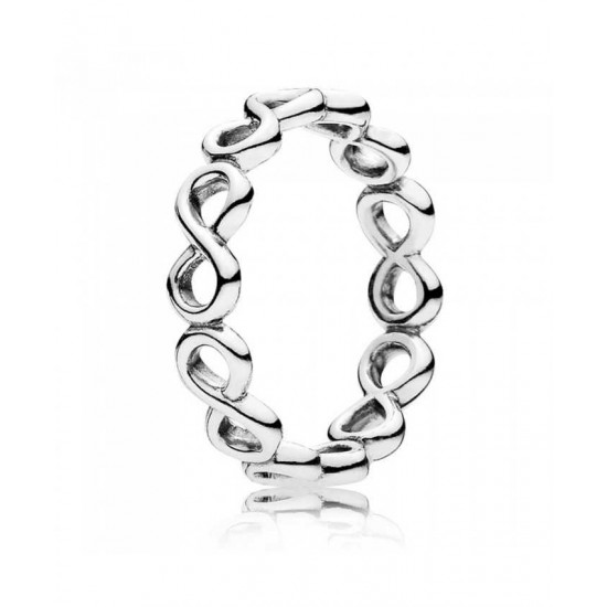 Pandora Ring-Silver Infinite Shine Jewelry Discount
